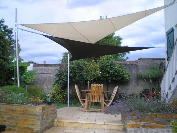 pergola et toile d 39 ombrage jardins de r ve. Black Bedroom Furniture Sets. Home Design Ideas