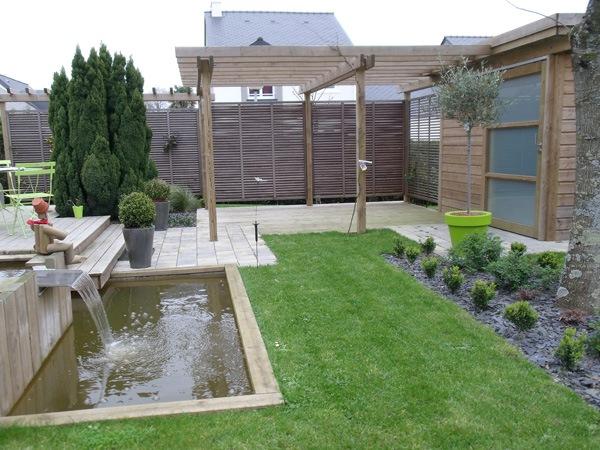 jardins de r ve paysagiste vertou pergola et toile d. Black Bedroom Furniture Sets. Home Design Ideas