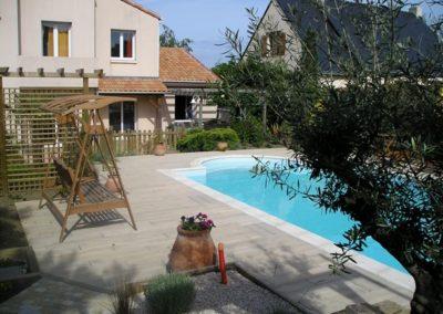 jardins de r ve paysagiste vertou abords de piscine. Black Bedroom Furniture Sets. Home Design Ideas