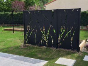 clôture et portail